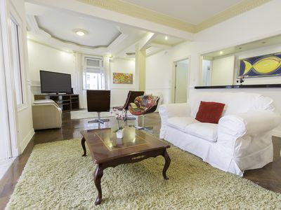 Photo for Three Bedroom Partial Ocean View in Copacabana