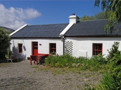 Photo for Small, cosy, very traditional cottage in quiet location on Kerry Walking Way, Ireland's most f…