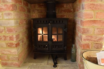 Cosy wood burner - fuel provided in winter months