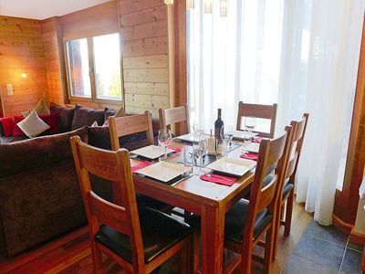 Photo for Apartment in the center of Nendaz with Internet, Lift, Parking, Balcony (125031)