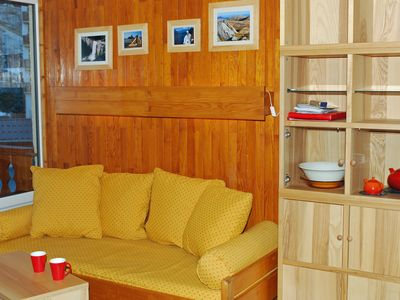 Photo for Comfortable studio, up to 4 people, in Val Thorens near restaurants and piste.