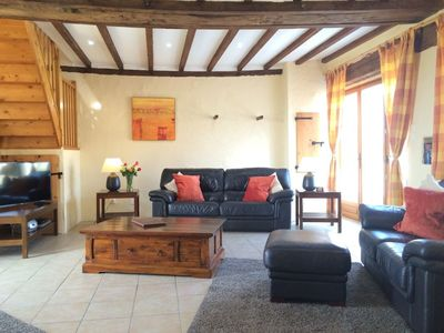 Photo for Le Grebe - Luxury 4 Bedroom Gite With Heated Swimming Pool In The Loire Valley