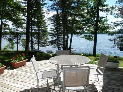 Photo for Lakefront Cabin w/ Stunning Views & Private Dock!