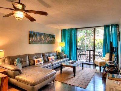 Photo for Unbeatable Location PARADISE = 2bd / 2BA Across from Beach - FREE Parking & WiFi