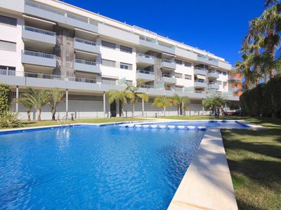 Photo for MARINA RASET – Apartment 100 m from beach – Sleeps 8 - Dénia, Las Marinas