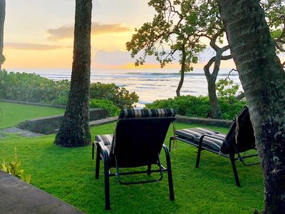 Photo for 5★ Luxury Oceanfront on Sunset Beach, North Shore Oahu #132-523-7248-01
