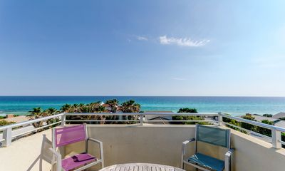 Photo for Location & Views! Lux Home for 20, Steps to Beach & Seaside. Pool, Bikes, Chairs