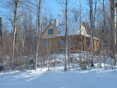 Photo for Single Family Home, Spectacular Mountain Views, Ski to the door