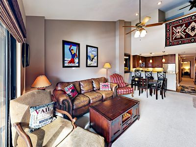 Living Area - Welcome to Avon! This condo is professionally managed by TurnKey Vacation Rentals.