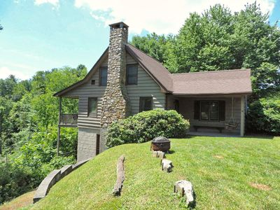 Photo for Quintessential Mountain Cabin located in Valle Crucis!