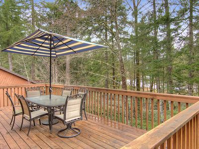 Photo for FALL RATES! RIVER VIEW! MANY AMENITIES! WI-FI, RIVER ACCESS, FULLY STOCKED