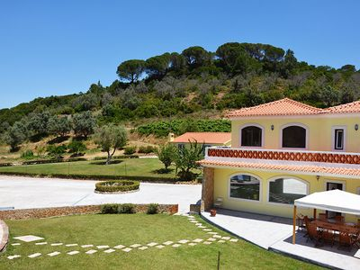 Photo for Villa for 16 with swimming pool heated