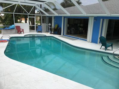 Photo for Gorgeous 2BR/2Bath Pool house on Pine Island!