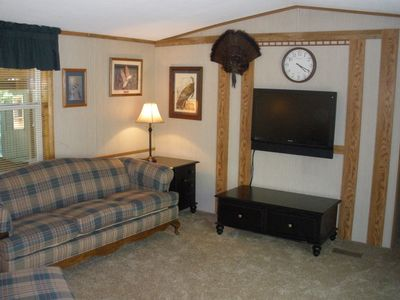 Photo for Family Friendly Cabin In The Woods, Hunting, ATV/Snowmobile, Fishing & Much More