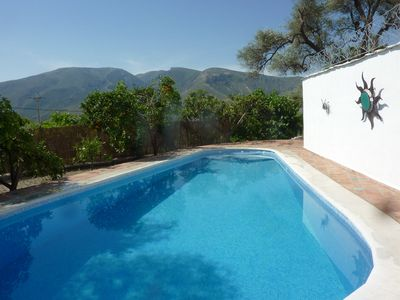 Photo for Rural Bliss! House with Own Pool, 5 Min Walk To Town, Air-con, Wifi