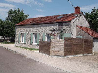 Photo for Stone house 4km from Nuits St Georges between Beaune and Dijon