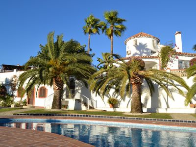 Photo for Beautiful 8 bedroom villa with private heated pool