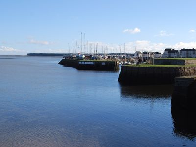 Photo for Harbour-Side Apt, 11 Miles To St Andrews, Golf, Coastal Walks, Views Over Firth