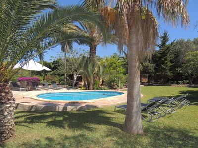 Photo for Beautiful and Authentic Majorcan Finca with Private Pool in Oasis of Tranquillity !