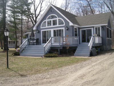 Photo for Waterfront Home with Beautiful Beach on Ossipee Lake