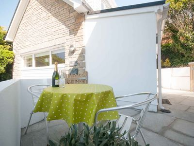 Photo for THE BEACH HOUSE, pet friendly, with a garden in Crantock, Ref 983142