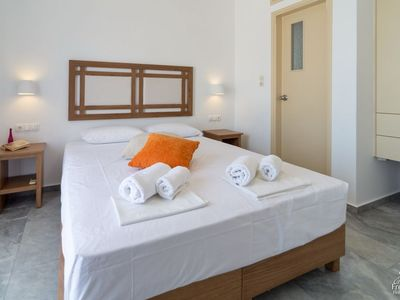 Photo for One bedroom Apartment, sleeps 4 in Paleochora with Air Con and WiFi