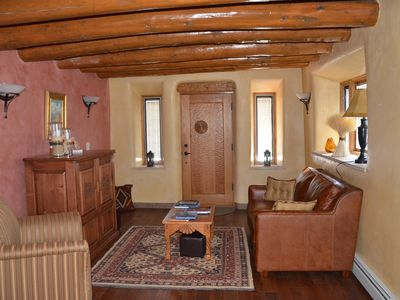 Remodeled 120 Year old Adobe, In historic New Mexico Village