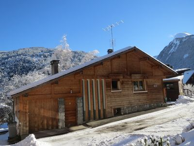 Photo for Centrally Located Chalet In Morzine With Comfortable Lounge For Everyone