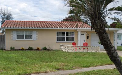 Photo for Steps from the beach and short drive to the Orlando and central FL attractions.