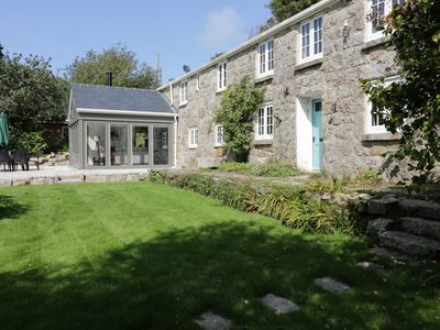 Photo for ROS VALE, pet friendly, with open fire in St Buryan, Ref 953751