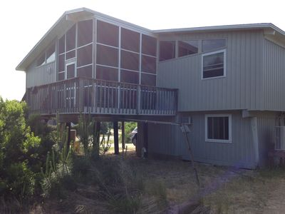 Tracy Beach House view from southeast