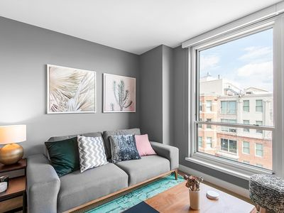 Photo for Penn Qtr 1BR w/ Great Views + Gym, near Metro by Blueground
