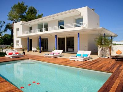 Photo for 5 bedroom Villa, sleeps 9 in Ses Paisses with Pool, Air Con and WiFi