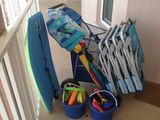 Heated pool, views, short walk to beach, FREE wifi, bikes and beach gear incl