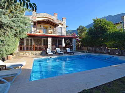 Photo for Luxury, 3 bedroom Villa Ecrin with private well-kept garden and pool