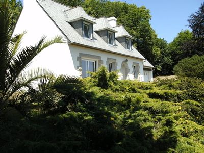 Photo for Nice house in Plouguiel to contemplate the landscape of the interior