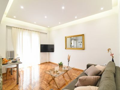 Photo for A piece of art. A cosy , 50 sq. meter  apartment in the center of Marousi.