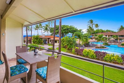 Stunning ocean view directly for your private lanai
