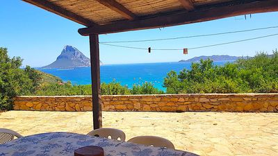 Photo for chalet stunning view 450 meters from the beach 8 seats