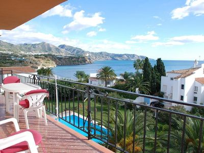Photo for Apartment with pretty sea views, 2 bedrooms