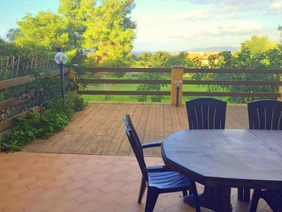 Photo for 2 bedroom apartment, private terrace, beautiful garden view, close to beach