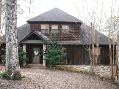 Photo for Spacious Rustic Lake Front Home with Amazing Outdoor Spaces!!!!