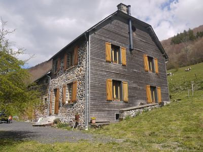 Photo for Distinctive farmhouse on a hillside with panoramic views over volcanic landscape