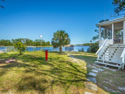 Photo for Morning Calm is what you will feel at this Very Nice,  River Front Home.