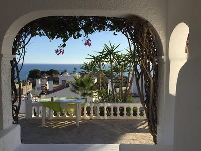 Photo for Villa with Private Pool, 3 BR & Amazing Seaview