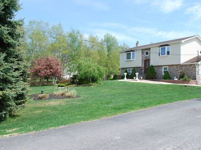 Photo for Four Seasons Vacation Home 4-BR Home w/outdoor hot tub and heated pool