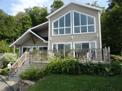 Photo for Spacious house not overlooked near a lake, 15 minutes from Quebec City