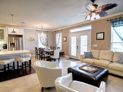 Photo for Luxury home, heated pool spring break,  hot tub, pool table