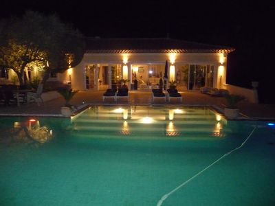 Photo for Splendid contemporary villa all comfort in peace with heated swimming pool