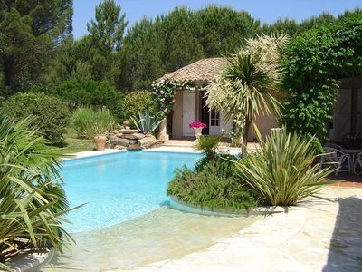 Photo for Villa St Tropez, comfortable quiet, plain pied6 / 8 pers. Big house
